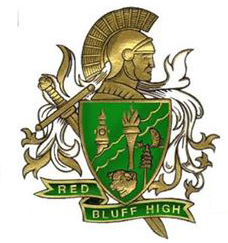 finishing-well-in-life-shield-Red Bluff High School's Spartan shield.